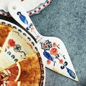 Anthropologie Lucerne Stay Sweet Cake Server